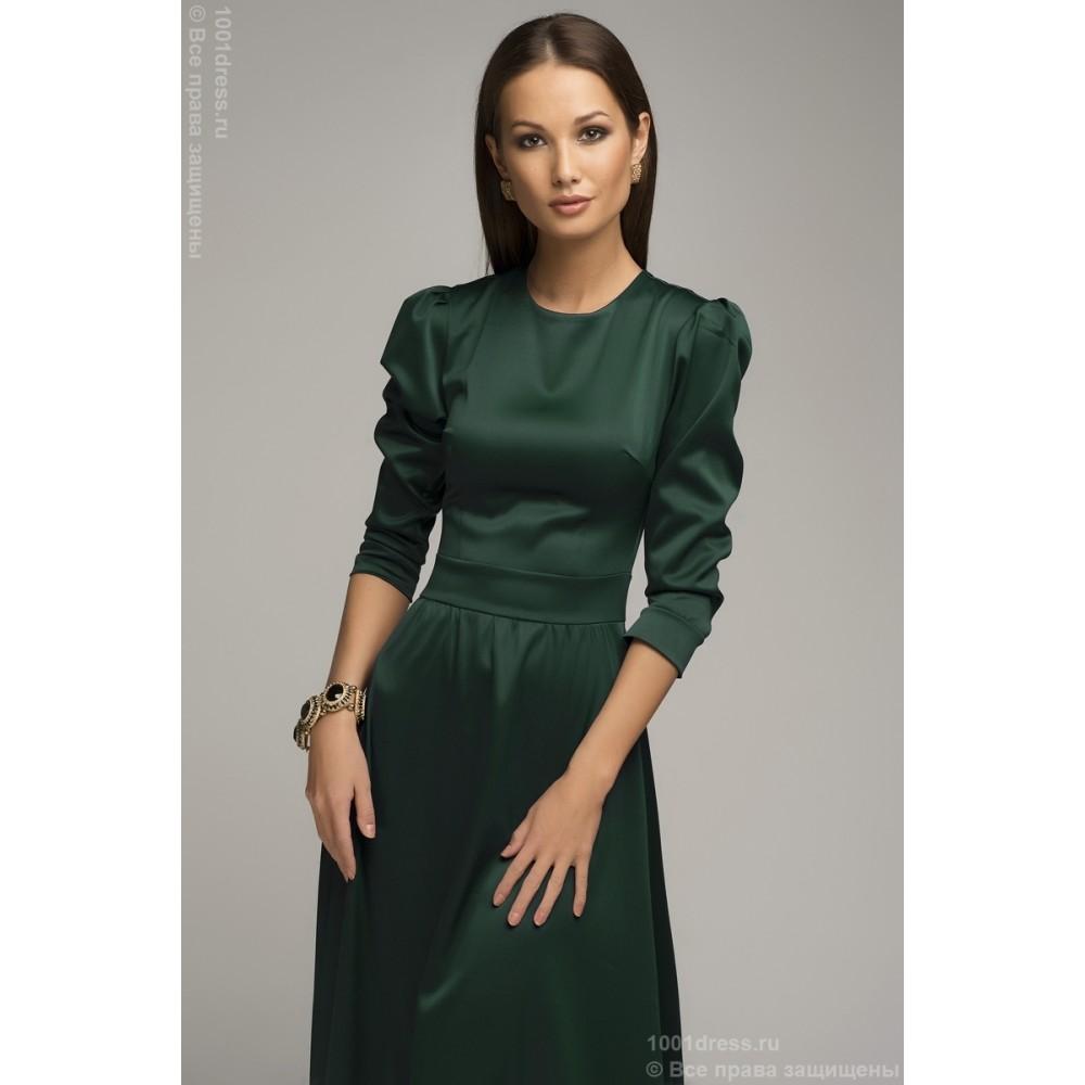 Коктейльное платье длинный рукав