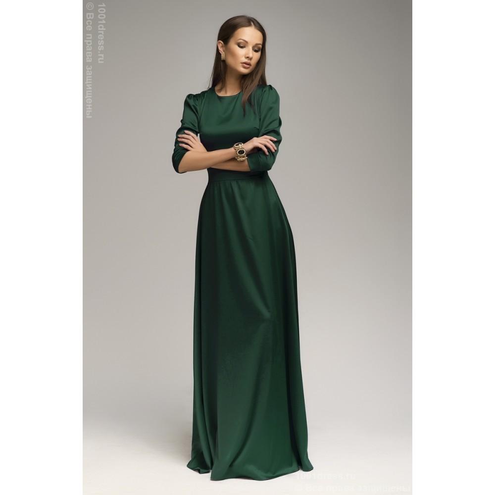 Длинное Платье В Пол С Рукавами Купить