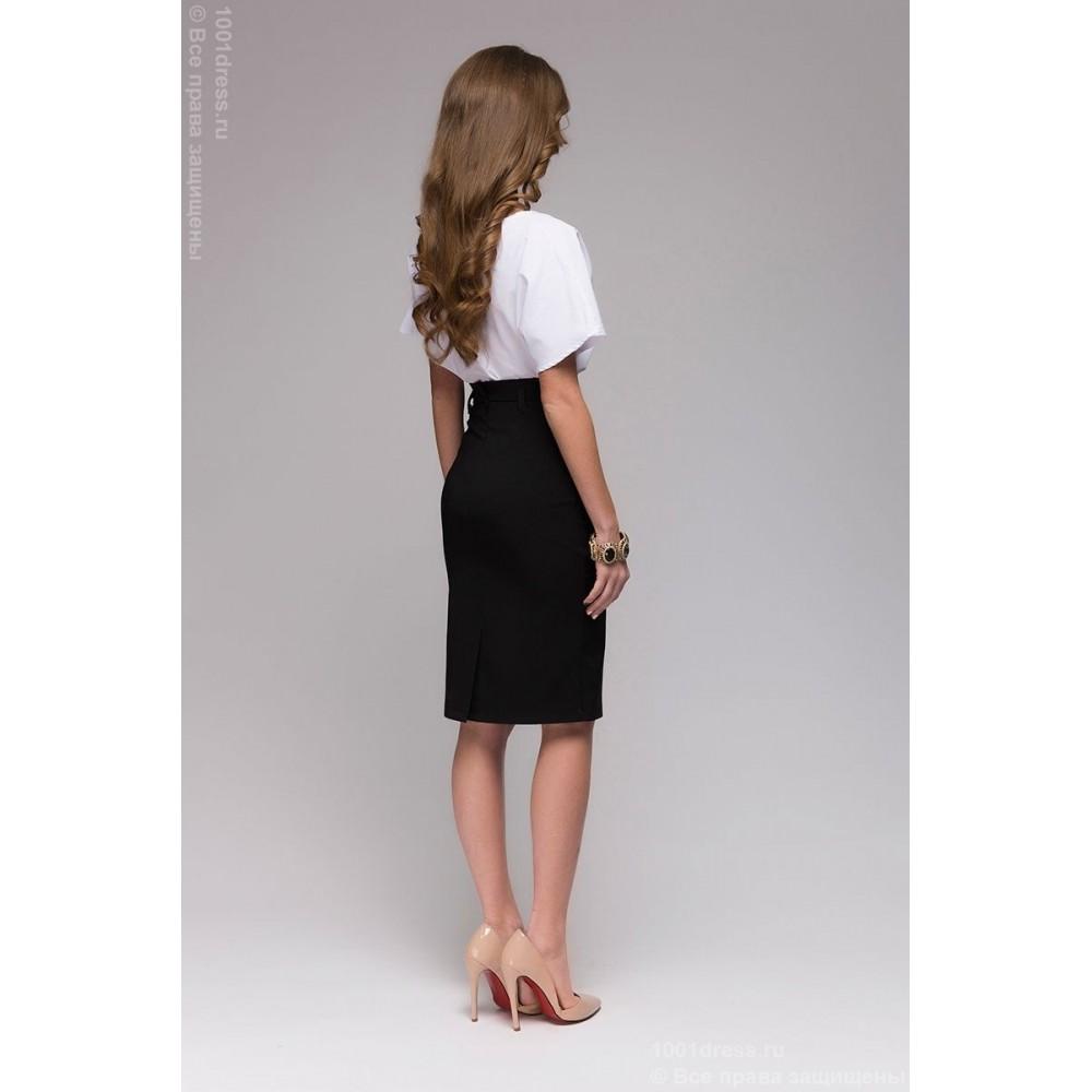 Черная юбка карандаш доставка