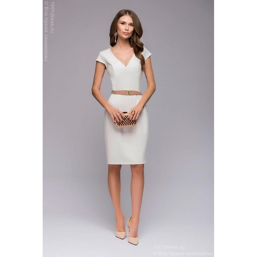 Платья с открытым декольте фото короткие