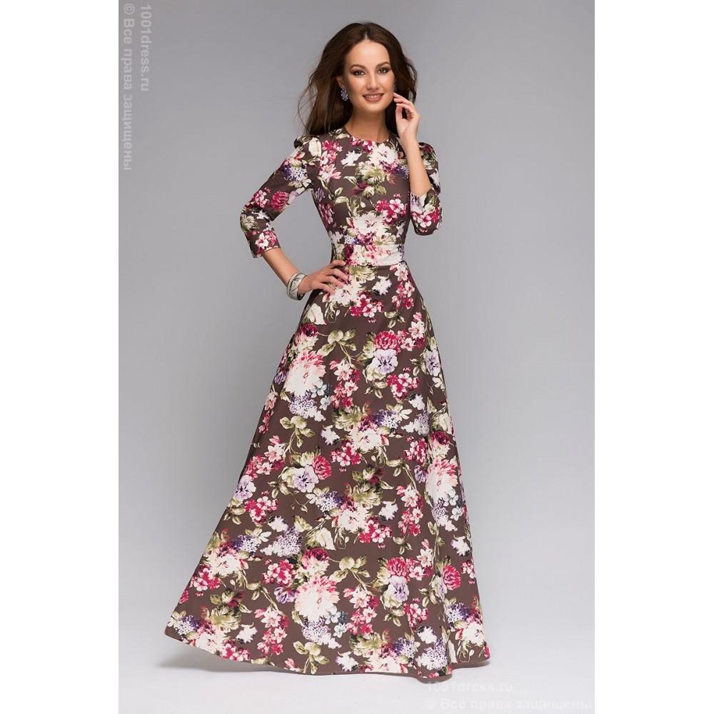 Платье в пол с шлейфом выкройка